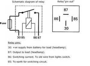 30a 4 pin relay diagram 30a free engine image for user
