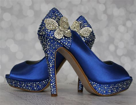 Wedding Shoes In Blue by Blue Wedding Shoes Www Imgkid The Image Kid Has It