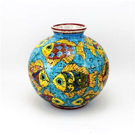 vasi in ceramica vaso in ceramica palla pesci piccolo