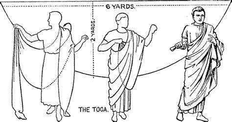 How To Drape A Toga tempus early period garb weeb site toga
