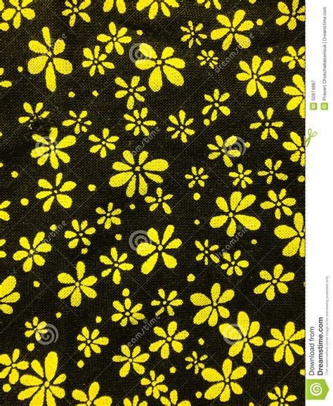 pattern yellow black blossom pattern background black and yellow stock image