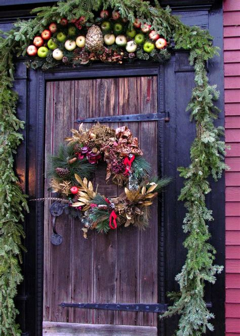 front doorway christmas decorations 50 best door decorations for 2019