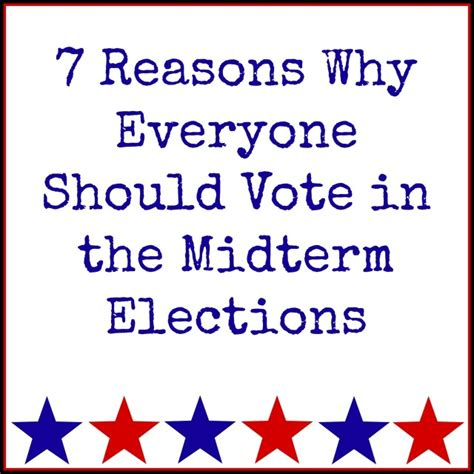 7 Reasons To Vote by 7 Reasons To Vote In The Midterm Elections Brita