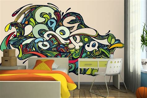 painting graffiti on bedroom walls wall inspiration 8 ways to style and make the most out of