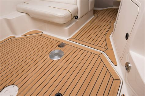 Teak Flooring For Boats by Barefoot Friendly Synthetic Boat Decking No Painting