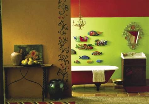 Fish decor for bathroom 2017 grasscloth wallpaper