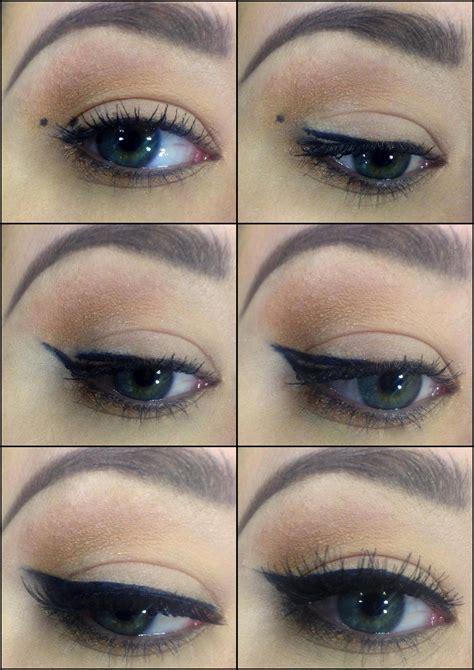 Eye Liner Make winged eyeliner in 6 easy steps magdalena bodziony make