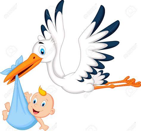 clipart nascita 24469081 storch mit baby lizenzfreie bilder