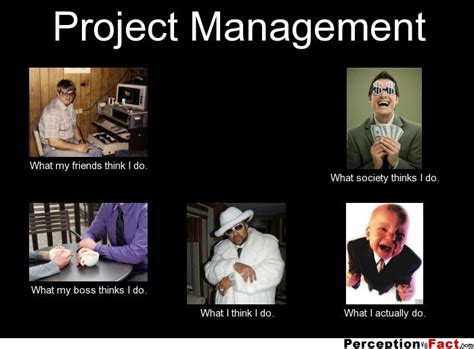 Project Management Meme - project management what people think i do what i