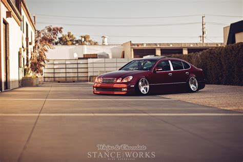 stanced lexus gs400 stance works johnny dip s lexus gs400