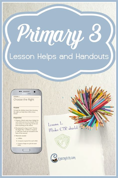 sugardoodle lesson ideas lesson helps for lds primary 3 choose the right b