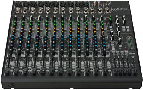 Mixer 16 Chanel Bekas mackie 1642vlz4 16 channel compact 4 mixer ebay