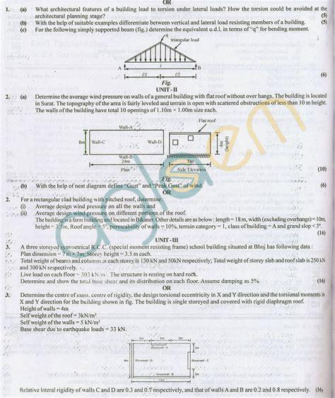 compiler design previous question paper semester 6 rtu question papers 5 semester ce building design