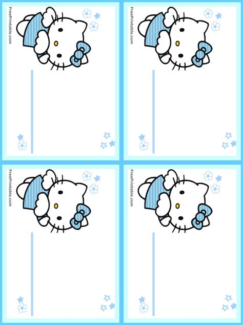 printable hello kitty tags free hello kitty printable name tags new calendar