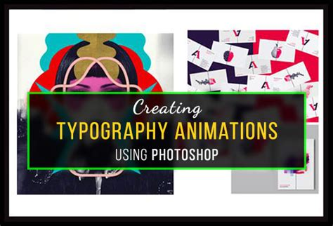 typography animation creating typography animation using photoshop
