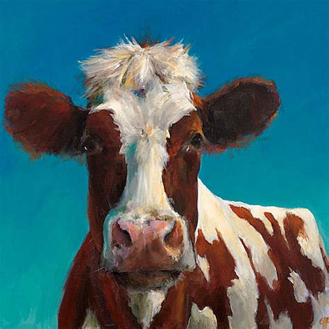 scow paintings cow painting cari humphry