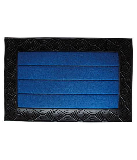 majesty home decor blue ethnic floor mat buy majesty majesty home decor wave blue door mat buy majesty home