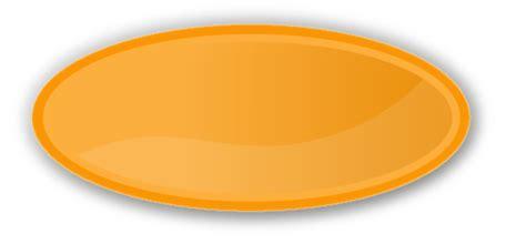Oval color label oval orange blanks shapes color labels oval
