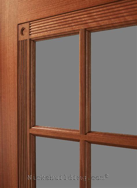 Mahogany Interior Doors 1 Panel Pre Stained Interior Doors