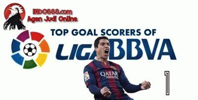 top score liga spanyol 2015 top score sementara laliga 2016 top skor sementara la liga