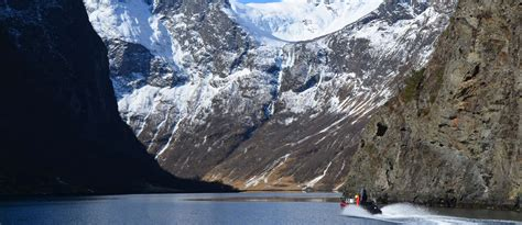 rib boat in flam winter rib boat fjord cruise frozen norway book a
