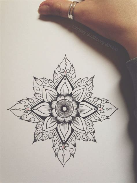 henna mandala tattoo im seriously considering getting a mandala