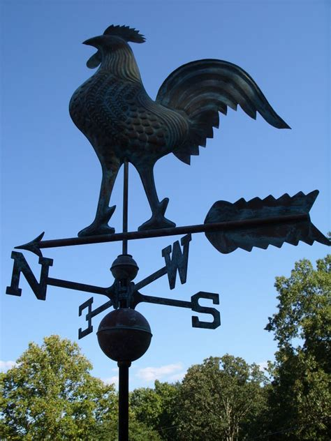 Weathervanes For Sale Large Rooster Weathervane Copper Functional Weather Vane