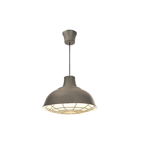 industry white charcoal pendant ceiling light