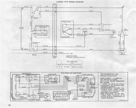 coleman mach rv air conditioner wiring diagram coleman