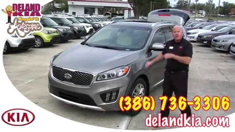kia sorento options 2016 kia sorento review sorento options deland kia