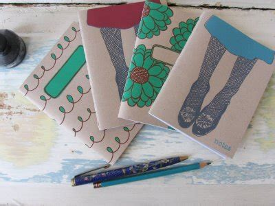 How To Make Notebook Paper Look - how to make a stitched notebook jen hewett