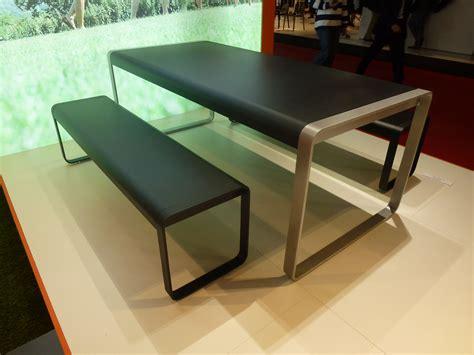 Salon Salle A Manger Design 2678 by Table Bellevie Bicolore L 196 Cm 8 224 10 Personnes