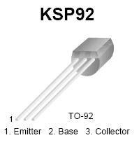 high voltage pnp bipolar transistor ksp92 pnp high voltage transistor nightfire electronics llc