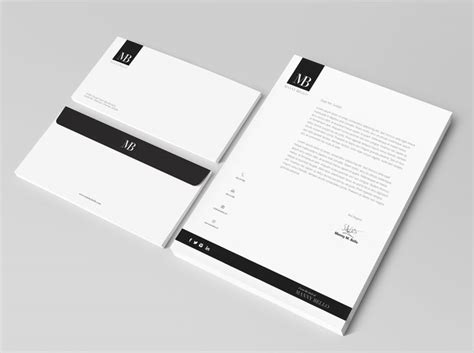 business card letterhead design inspiration 25 best ideas about letterhead design on