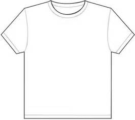 T Shirt Outline by Tshirt Template Clipart Best