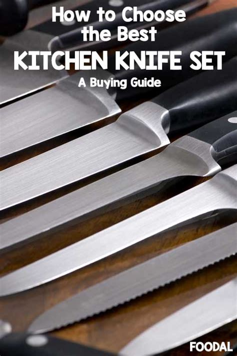 the best kitchen knife sets of 2018 a foodal buying guide