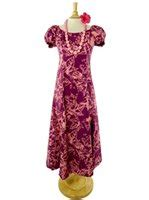 Hawa Maxi Pink hawaiian maxi dresses free shipping from hawaii
