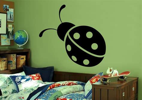 ladybug wall stickers stickonmania vinyl wall decals ladybug sticker