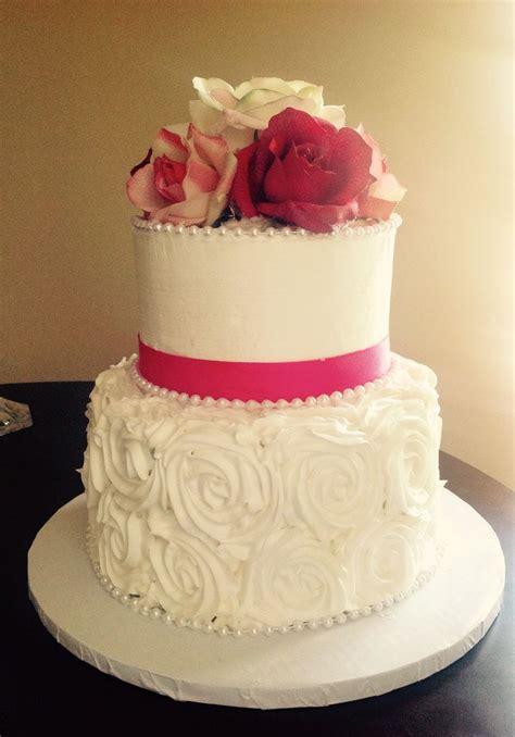 pin wedding cakes30 cake on pinterest 2 tier white buttercream wedding cake with buttercream