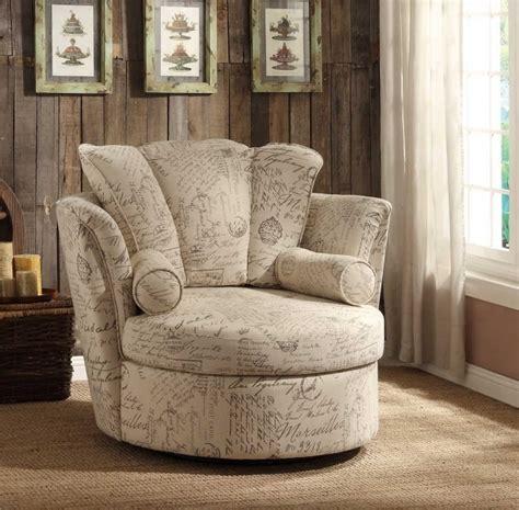 Swivel Side Chair Design Ideas Inspiring Swivel Chair Divani Casa Alba Modern Fabric Swivel Lounge Chair White
