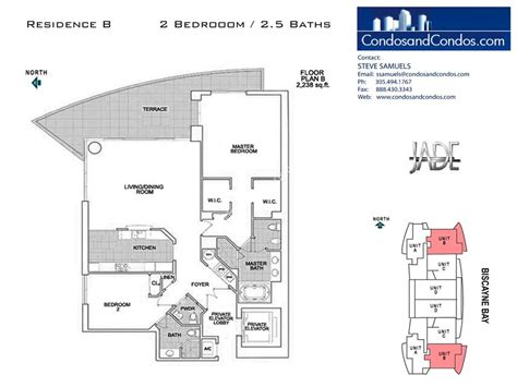 jade floor plans jade residences at brickell condos for sale 1331 brickell