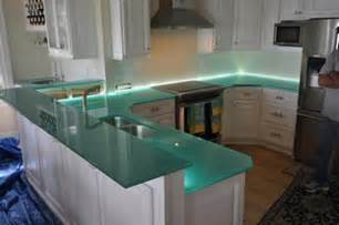 natural glass kitchen