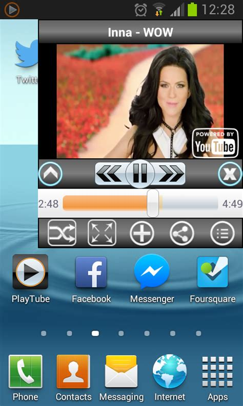 playtube for android playtube for demo para android