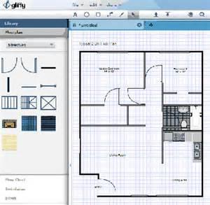 Superb Building Plan Software Online #4: Gliffy-free-home-design-program.png