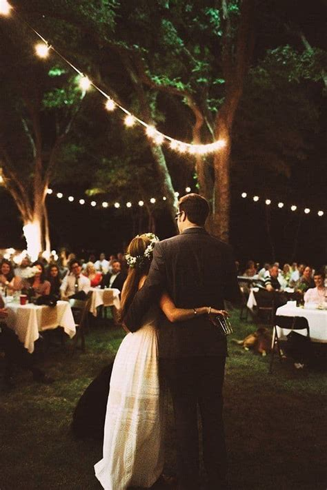 Backyard Wedding Lighting Ideas Backyard Wedding Best Photos Wedding Ideas