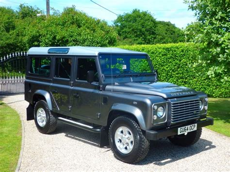 land rover defender diesel used corris grey land rover defender for sale essex
