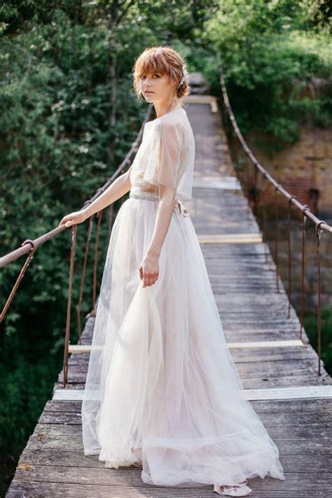 bridal tulle skirt wedding skirt chagne blush