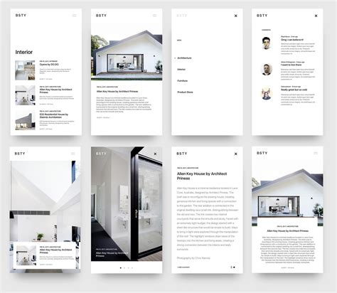 minimal interior design catalog by abradesign dribbble blog minimal interior design by beasty dribbble web