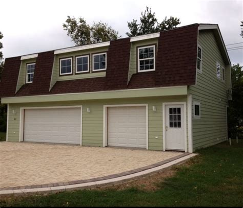 gambrel roof garage a gambrel roof garage apartment constructed from