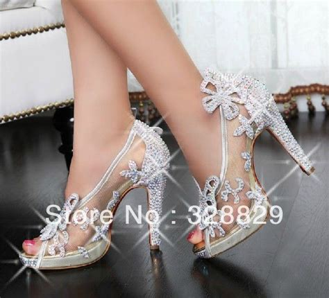 Shoe Bling by 2013 Selling Luxury Bowknot Mesh Transparent